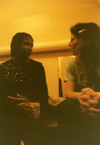 Annie Sampson and Wendy DeWitt